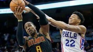 Howard 20-20 Game , Baze Drops 19 In Return Vs. 76ers | Atlanta Hawks Highlights | 3.29.17