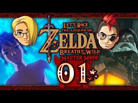 Lets Race: The Legend of Zelda: Breath of the Wild Master Mode  Part 1  Great Plateau
