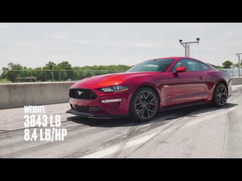 Ford Mustang GT Performance Pack Level 2 at Lightning Lap 2018
