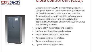 Close Control Unit- precision air conditioner- server room air conditioner-CRAC.wmv