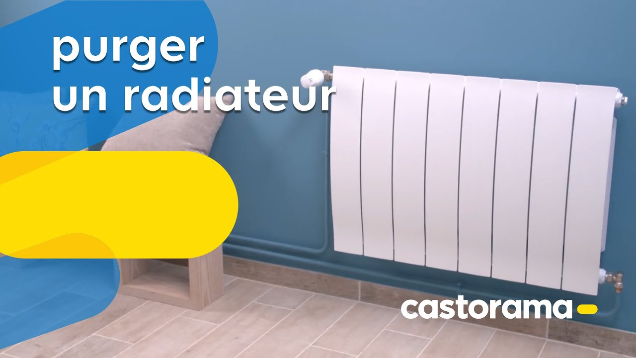 comment purger un radiateur de chauffage central castorama youtube. Black Bedroom Furniture Sets. Home Design Ideas