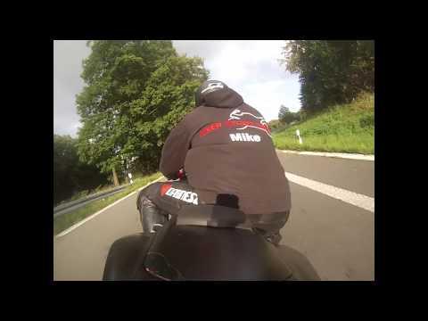 Biker Street Scene onboard GoPro