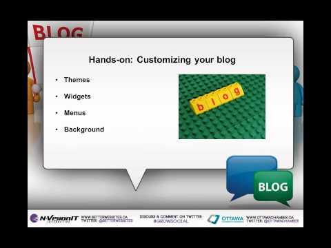 Learn the Secrets of Successful Blogging, hosted by Ottawa Chamber of Commerce