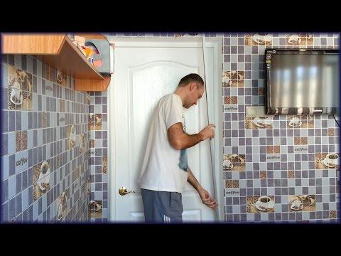 Как приклеить пластиковые уголки на углы стен