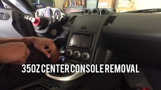 350z Center Console Removal