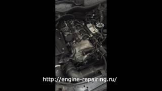 Звук дизельного двигателя после ремонта