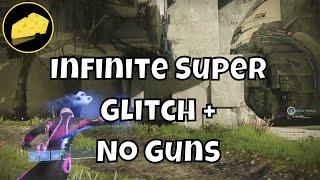 Infinite Super Glitch - No Guns - Sparrows Drive Themselves