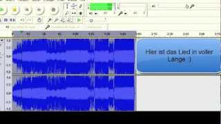 DJ Antoine ft. The Beat Shakers - Ma Chérie 3-fache Geschwindigkeit + Audacity Tutorial