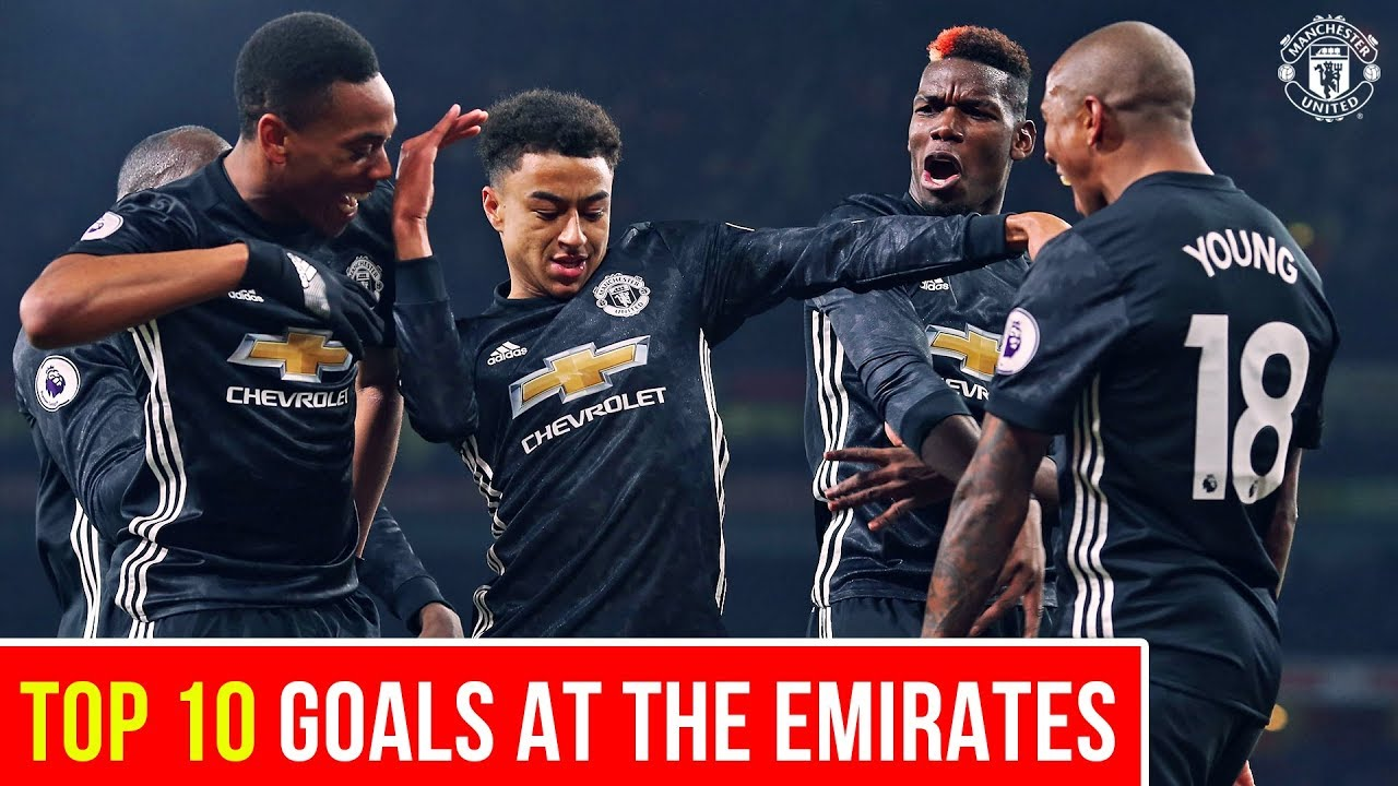 Download Top 10 Goals   United at the Emirates   Manchester United v Arsenal
