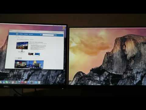 1440p vs 1080p Display (117ppi vs 94ppi) - Two Monitors in direct comparison