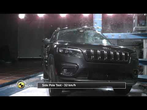 El Jeep Cherokee logra cuatro estrellas en las pruebas de Euro NCAP