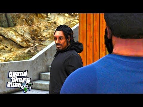 GTA 5   REAL LIFE MOD #34 RAP LIFE 2 MEETING SNOOP DOGG! (GTA 5 REAL LIFE MOD)