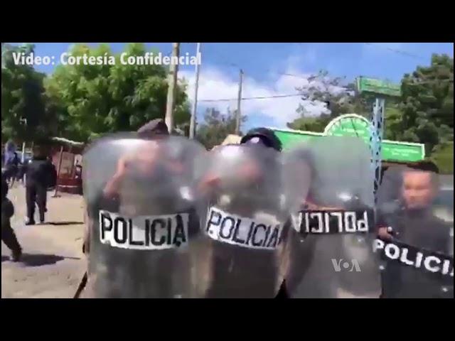 Nicaragua: Atacan a periodistas durante cobertura sobre allanamiento de