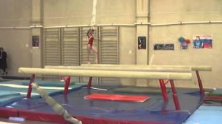 Ангелина 6 февраля 2014 Волжский гимнастика