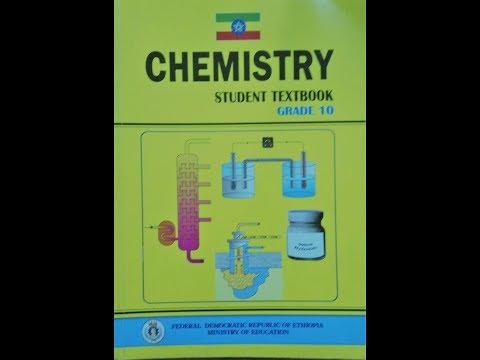 ITec Ketema Ethiopian Grade 10 Chemistry Student Textbook Pdf Free Download 2019