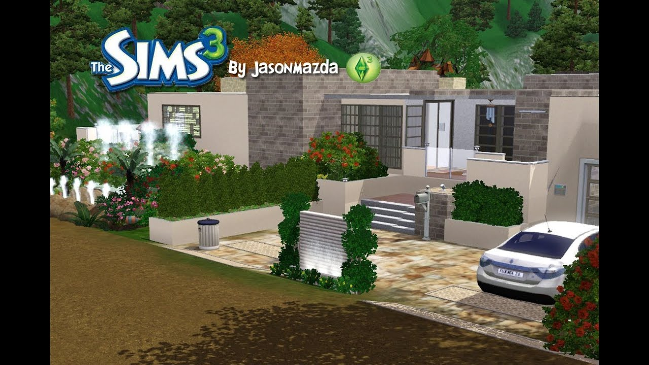 The sims 3 house designs hillside hideaway youtube for Sims 3 home design ideas