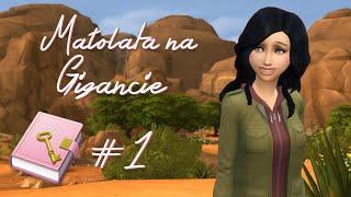"""The Sims 4. Małolata na Gigancie (Odc.1) """"Zbuntowana nastolatka"""""""