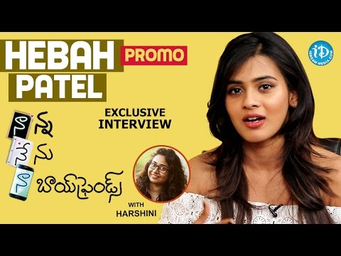 Actress Hebah Patel Interview PROMO | #NaannaNenuNaaBoyfriends | Talking Movies With iDream