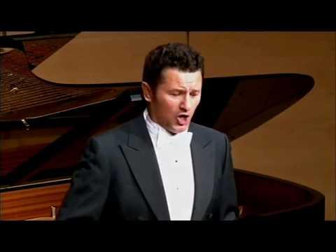 """Piotr Beczała & Kristin Okerlund (piano): """"Diechterliebe"""" Op.48 - Robert Schumann"""