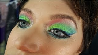 URBAN DECAY Electric Palette Green Rainbow eyeshadow Thumbnail