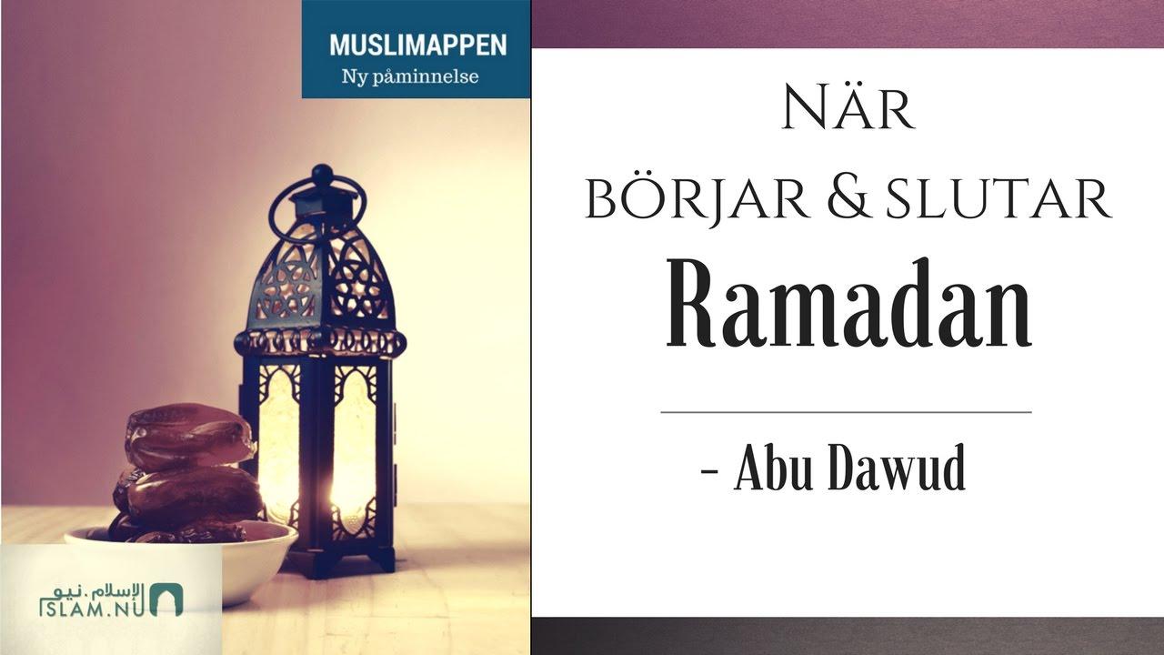 Den Korrekta metoden för att ta reda på när Ramadan börjar & slutar | Muslimappen
