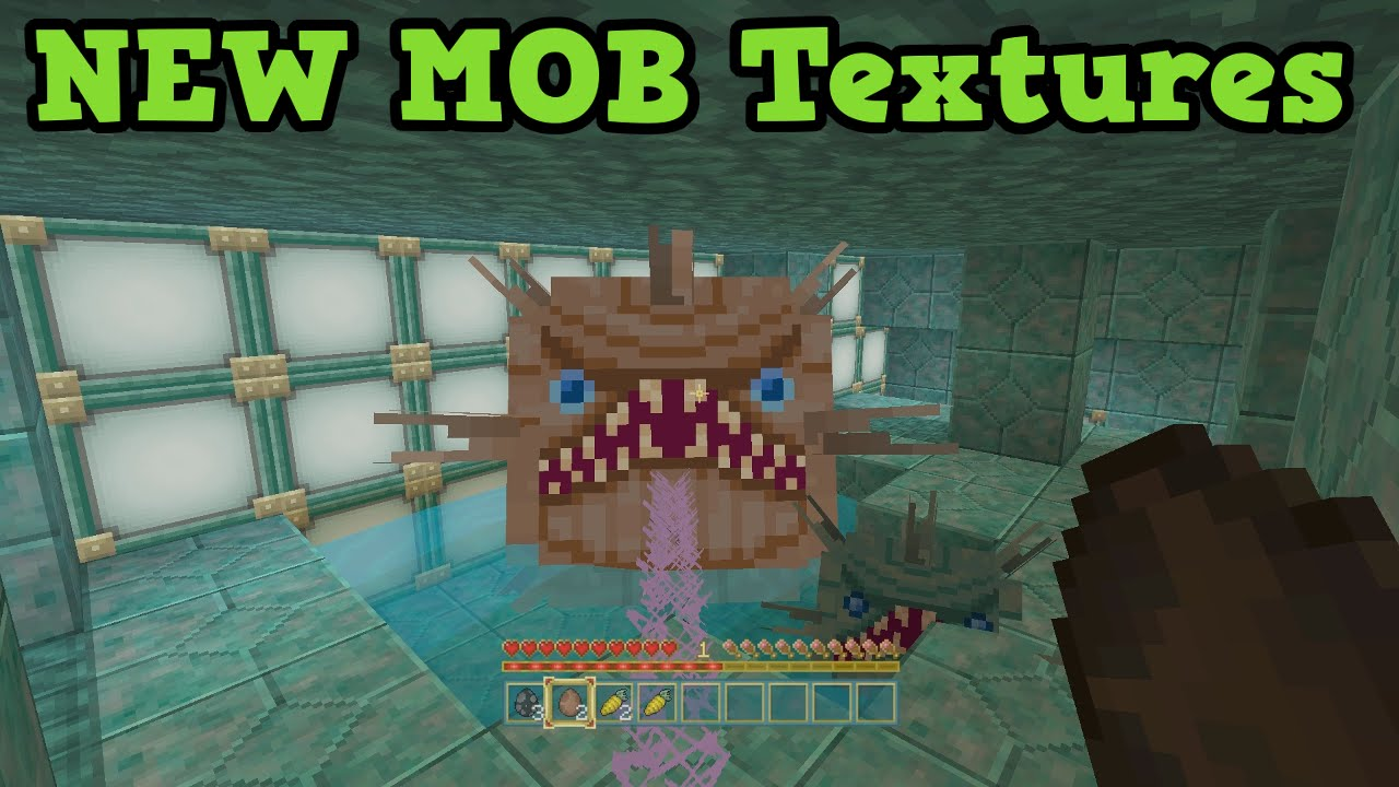 Minecraft Xbox One Ps4 Tu31 New Mobs All New Textures Youtube
