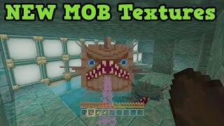 Minecraft Xbox One / PS4 TU31 New Mobs ALL New Textures