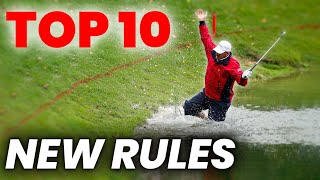 NEW GOLF RULES 2019 -10 IMPORTANT RULES TO STOP GOLF CHEATS AND SPEED UP GOLF