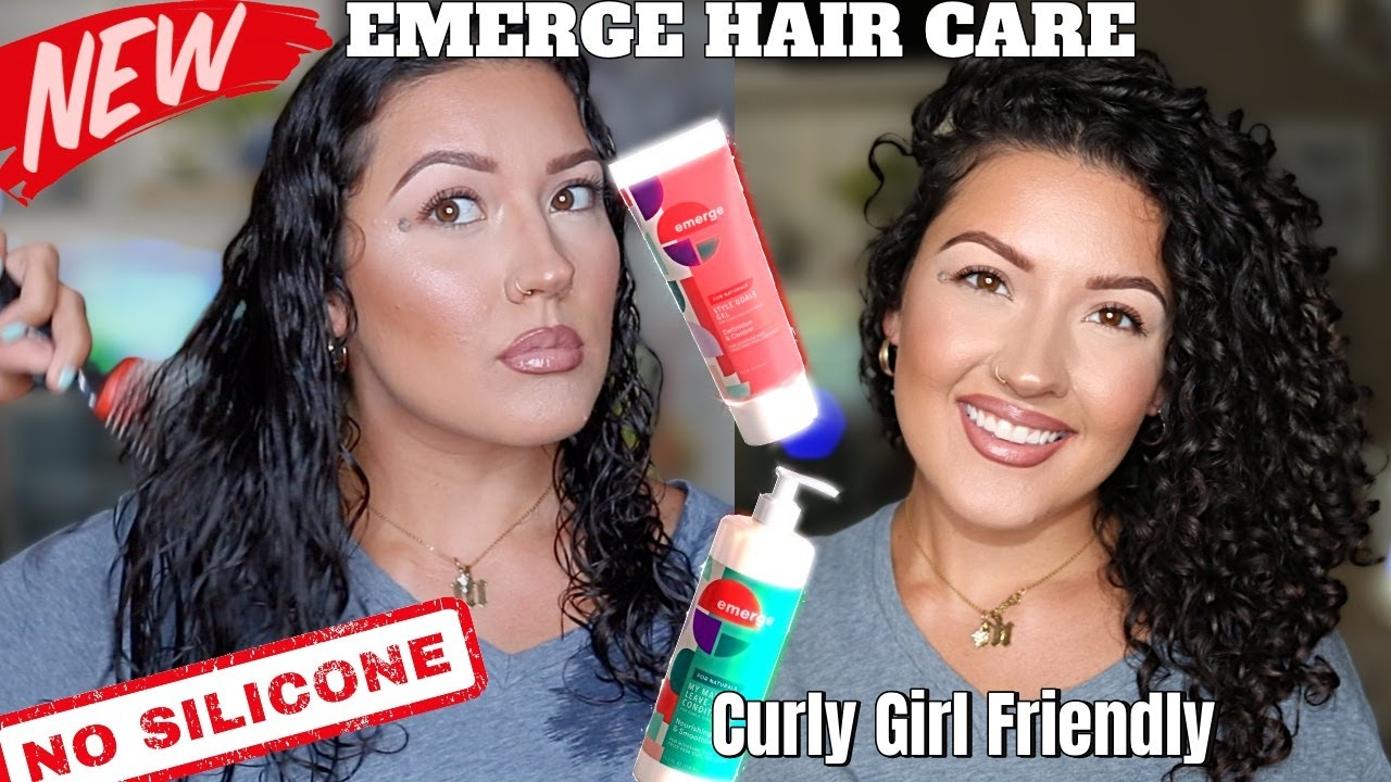 EMERGE HAIR CARE LINE, CURLY GIRL FRIENDLY