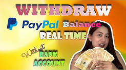 HOW TO WITHDRAW MONEY FROM PAYPAL REALTIME WITHOUT BANK ACCOUNT | HOMEBASED JOB PH