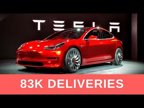 TESLA MODEL 3 PREDICTION - 83K Delivered in 2017 But Will It Be Enough to Please Investors?