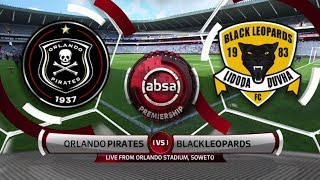 Absa Premiership | Orlando Pirates v Black Leopards | Highlights
