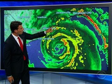 Hurricane Arthur intensifies as it nears North Carolina coast