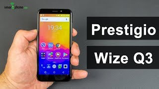 Prestigio Wize Q3: 5-дюймовый смартфон с экраном 18:9 за $65