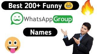 Whatsapp Group Names List | Asdela