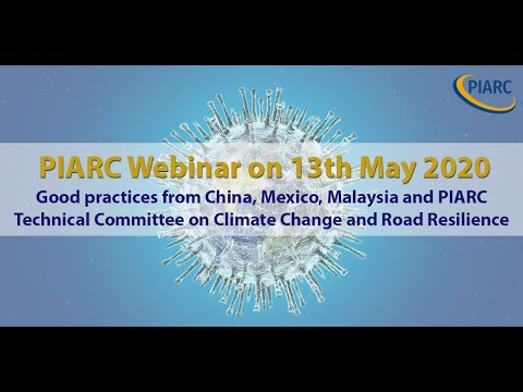 PIARC & COVID-19 - Online Discussion - 13 May 2020