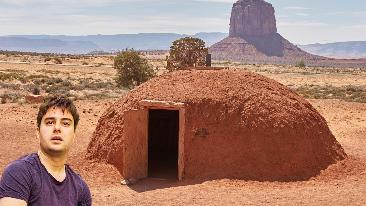 Living COMPLETELY OFF THE GRID in a Native American Home