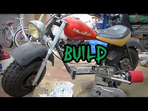 Mini Bike Build: Baja Heat Restoration & Mods Intro