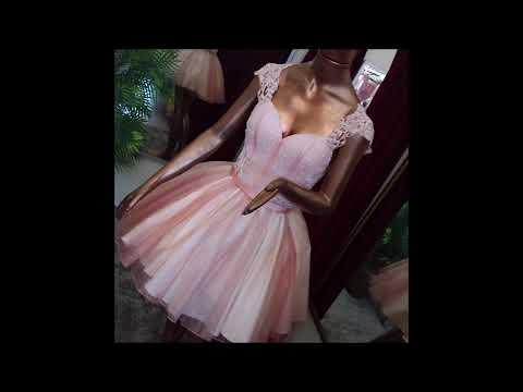 Belíssimo vestido de debutante 2 em 1