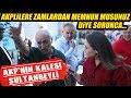 AKPliler Zamlar Hakkında Bakın Neler Söyledi!