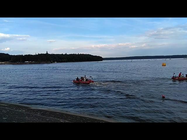 FR1000 powerboat Crash