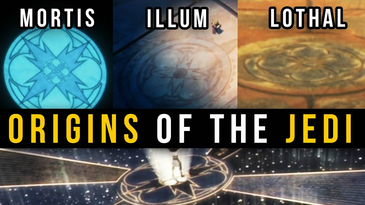 The Ones CREATED The Jedi Order? (CANON) | Mortis - Ilum - Lothal Connection