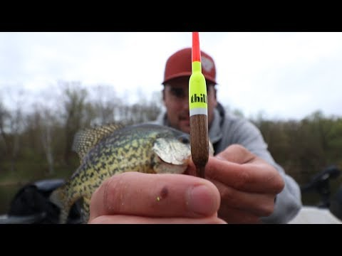 Best BOBBER For Crappie Fishing?! | How To CATCH Crappie With A Bobber