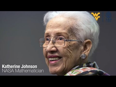 wvu-alumni-spotlight-|-katherine-johnson-(nasa)