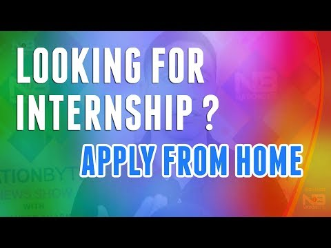 How To Apply For Internship Anywhere In India in Hindi By Surender Sharma