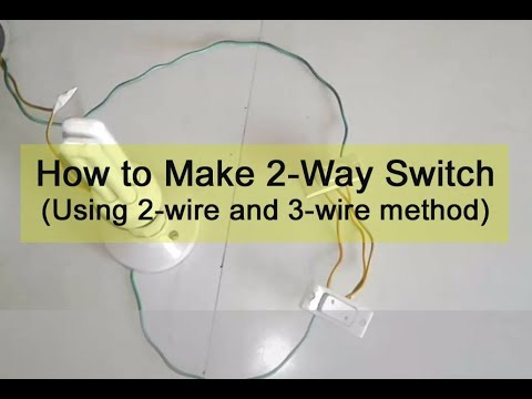 How to Connect a 2-Way Switch (with Circuit Diagram)  Way Switch Wiring Diagram For Free Download Ex on