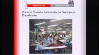 Lean manufacturing: manufactura esbelta