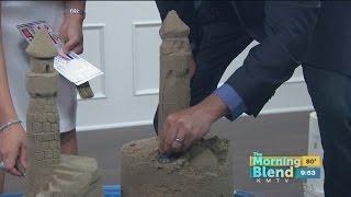 Live TV Blooper: Sand Sculpting Mishap