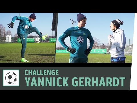 Tor-zu-Tor-Challenge vs. Profi Yannick Gerhardt | VfL Wolfsburg | Kickbox