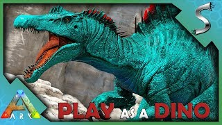 BUILDING A SPINOSAURUS HUNTING PACK ON VALGUERO! - Ark: Play As A Dino Mod [Spino Gameplay]